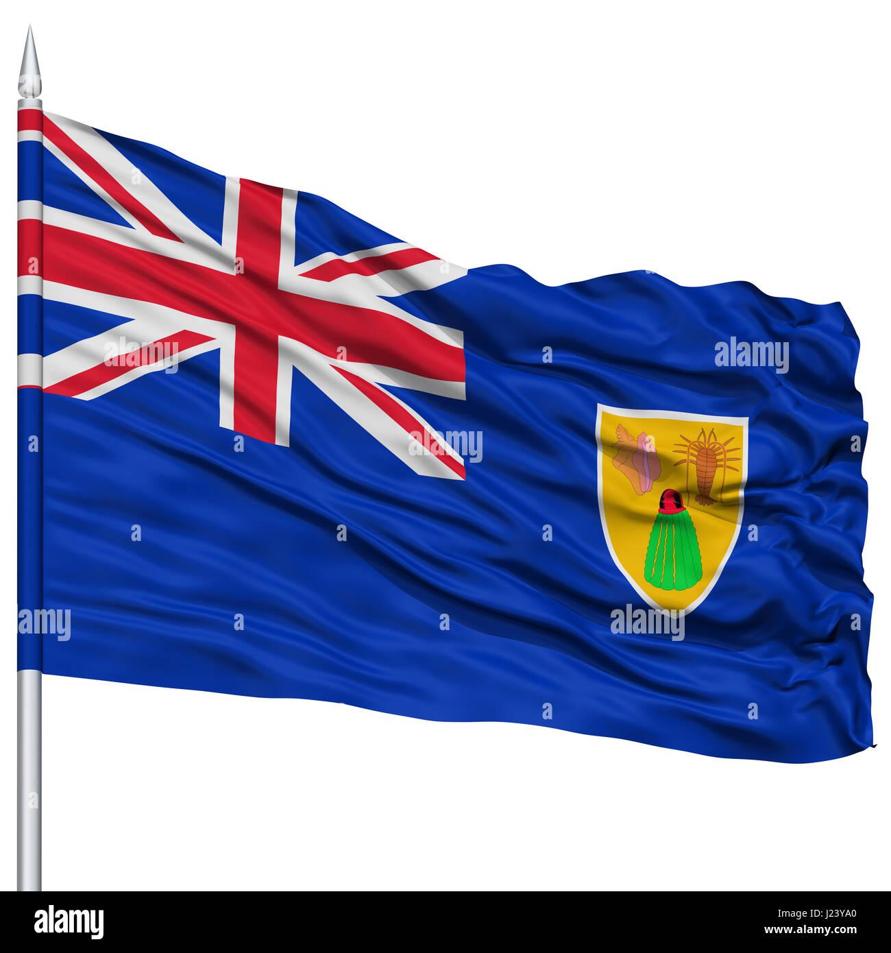 Bandera De Las Islas Turcas Y Caicos
