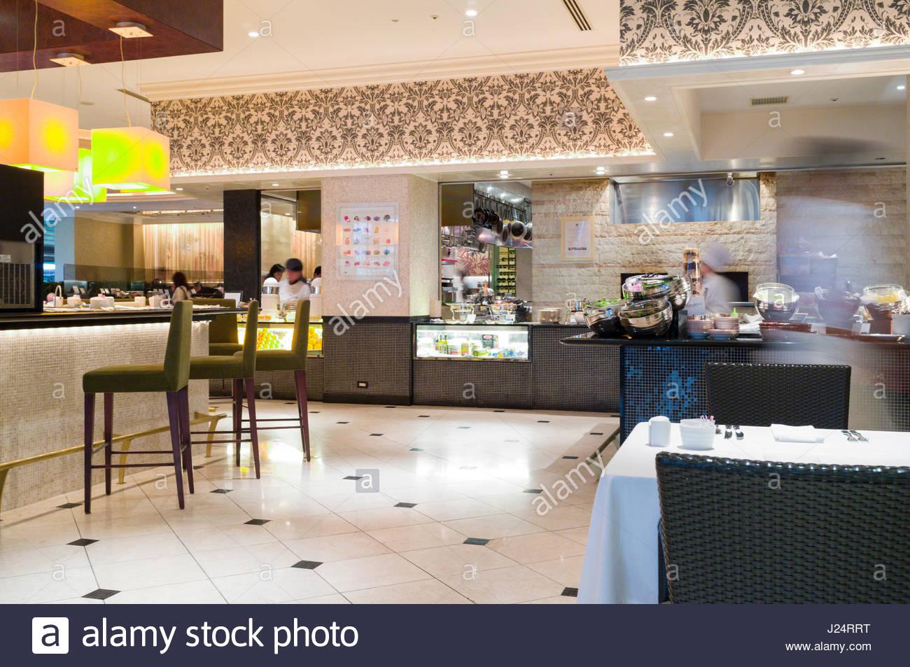 Desayuno Buffet En El Restaurante De La Terraza En El
