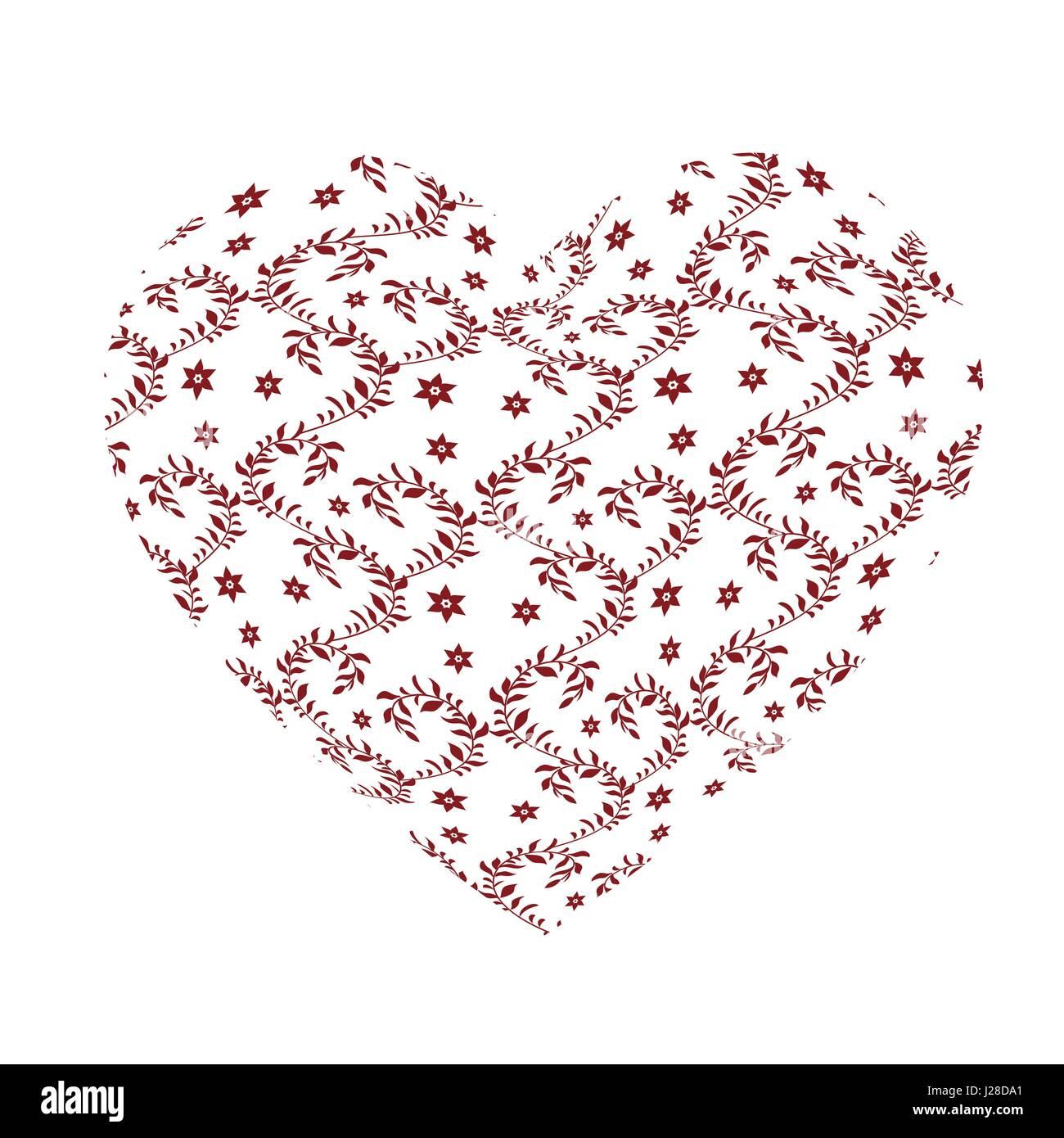 Bonito Corazón Rojo Patrones Libres De Tejer Patrón - Coser Ideas ...