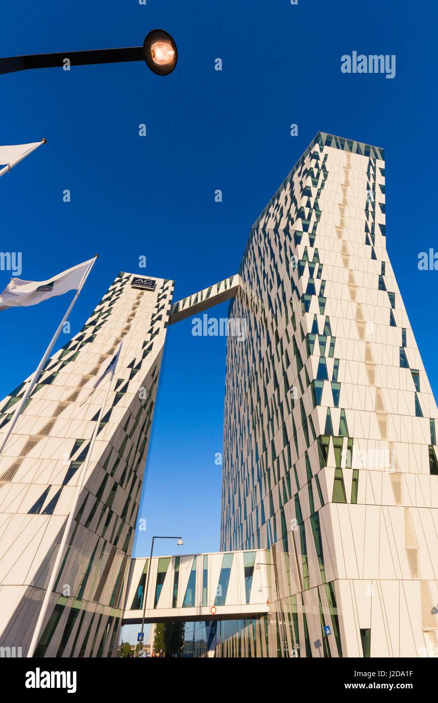 Dinamarca, Zelanda, Copenhague, Bella Sky Hotel Towers Foto de stock