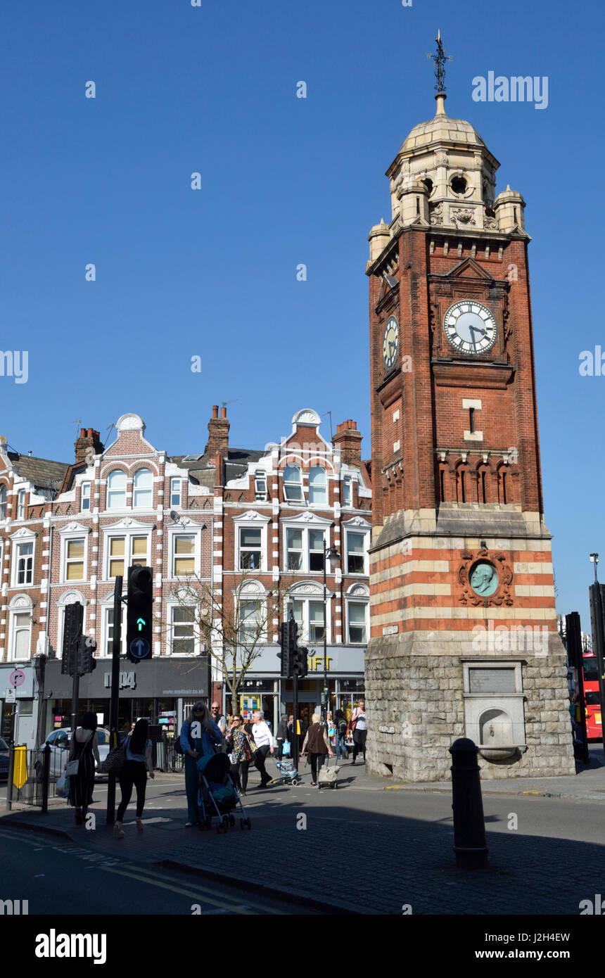 Crouch End, Londres, Reino Unido. Imagen De Stock