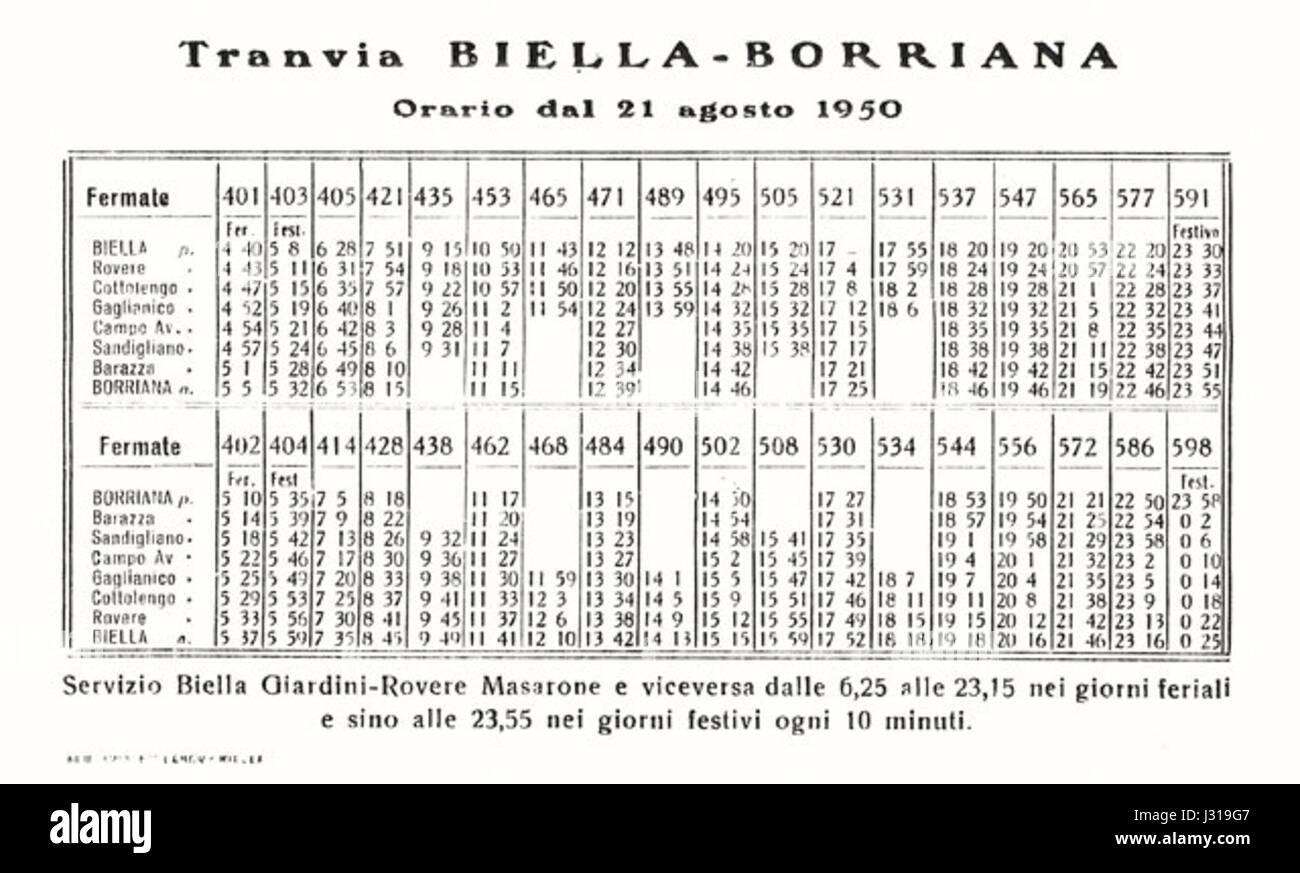 Calendario 1950.Biella Borriana Calendario 1950 Foto Imagen De Stock