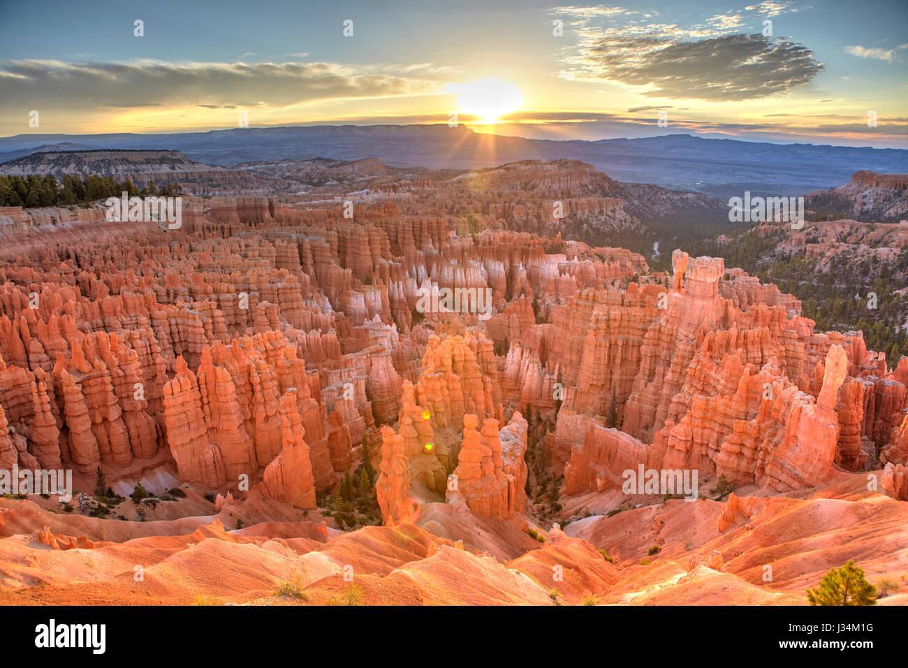 Bryce Canyon, Utah, Estados Unidos Imagen De Stock