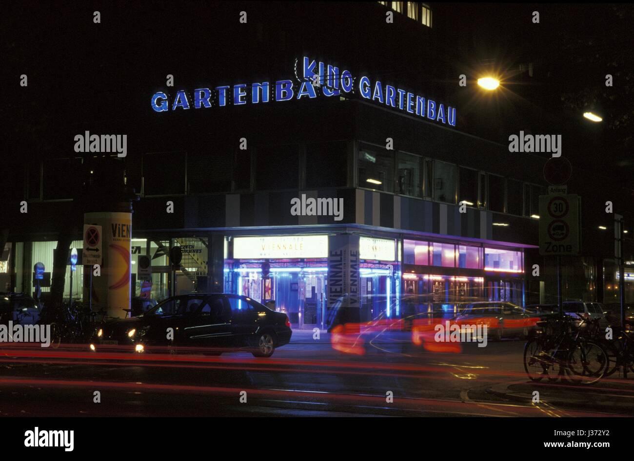 Wien, Gartenbau-Kino, Viennale Imagen De Stock