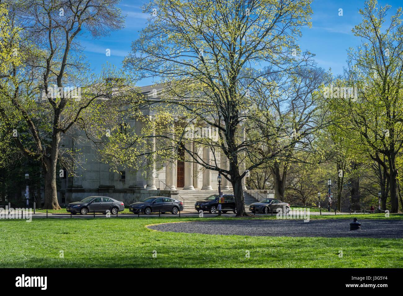 Clio Hall, de la Universidad de Princeton, NJ, EE.UU. Imagen De Stock