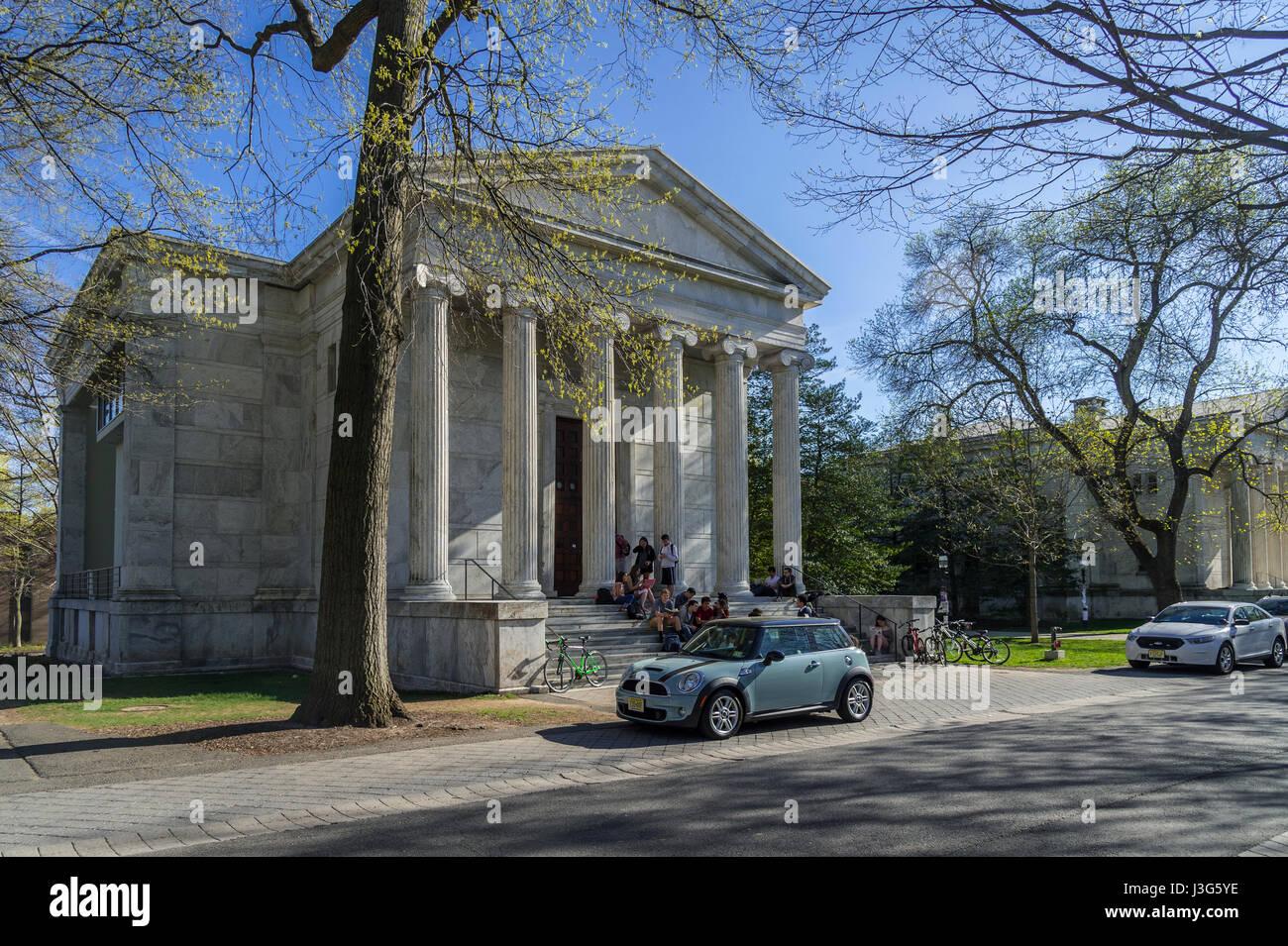 Whig Hall, de la Universidad de Princeton, Nueva Jersey, EE.UU. Imagen De Stock