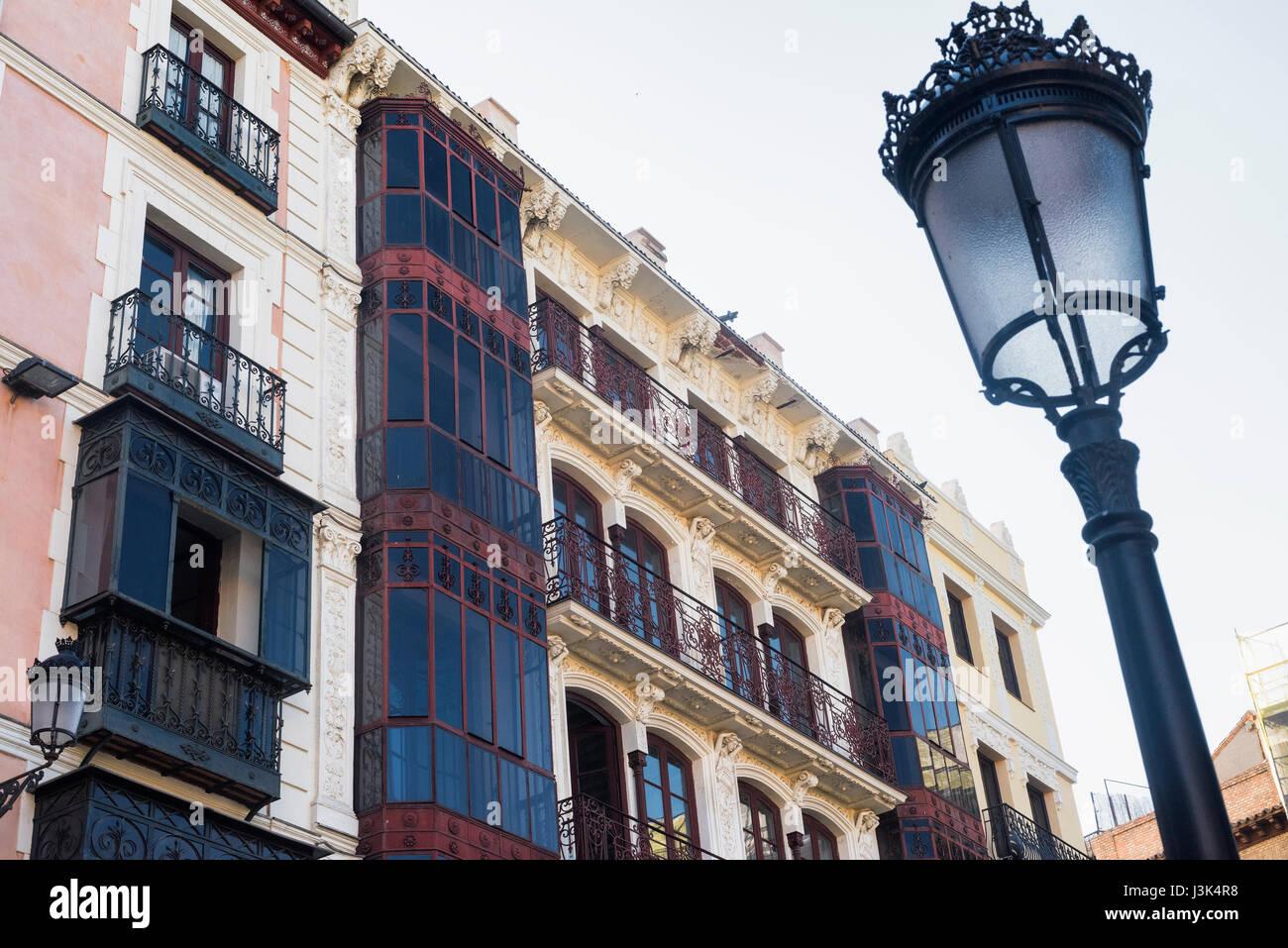 Toledo Castilla La Mancha España Fachada De Edificio