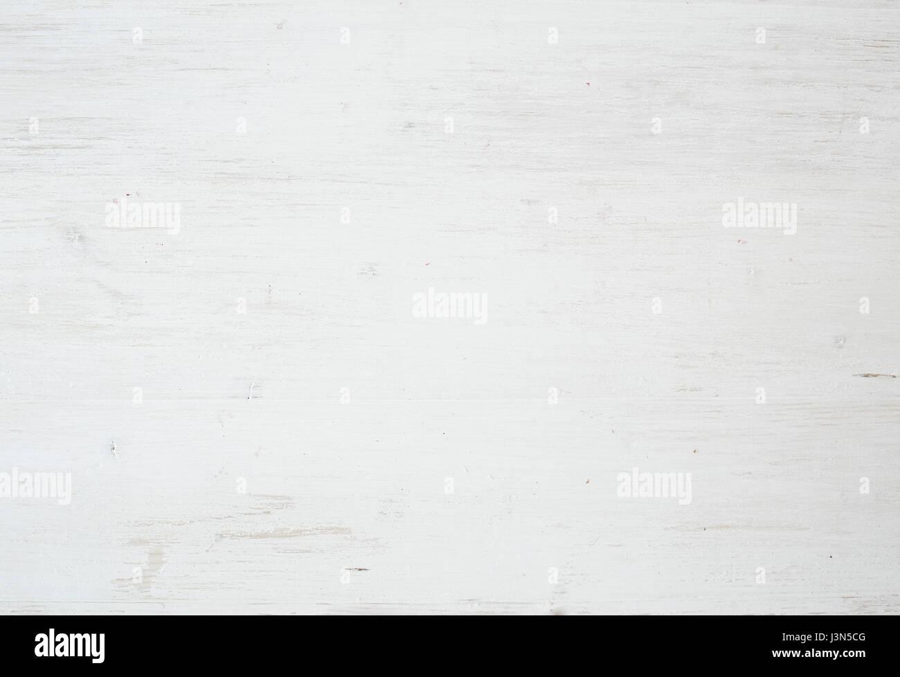 Textura de madera, madera blanca del fondo con una servilleta de cocina, horizontal Imagen De Stock