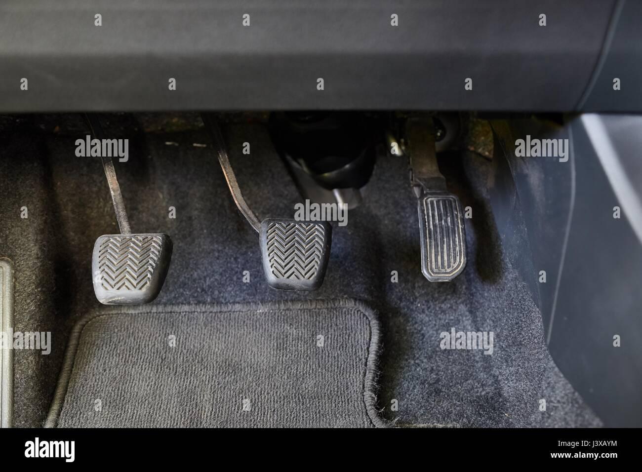 Pedales del auto manual
