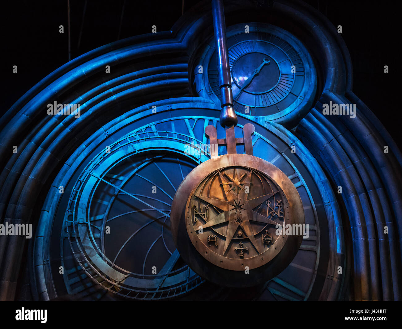 Harry Torre Del Potter HogwartsHaciendo De Péndulo Reloj rCoxdBe