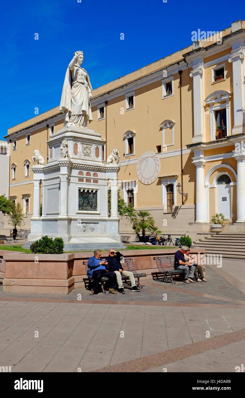 Oristano, Cerdeña, Italia Foto de stock