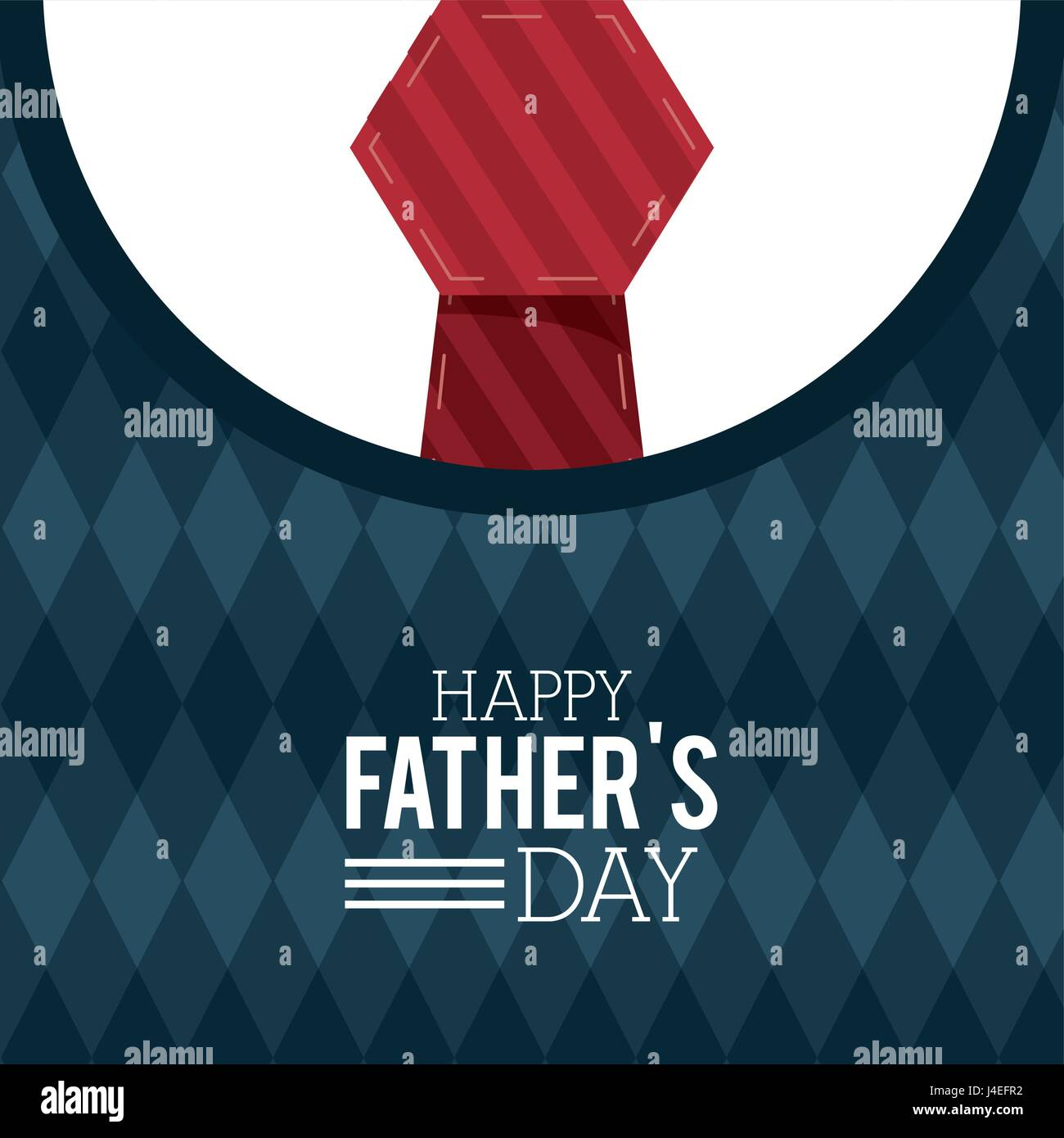 Feliz Día Del Padre Tarjeta De Felicitación Rotulación