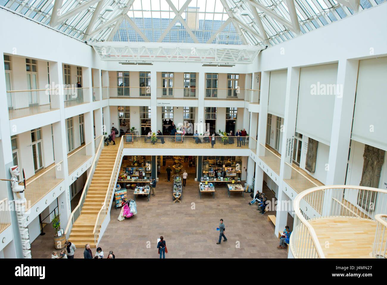 Museo Nacional de Dinamarca, Copenhague, Dinamarca Foto de stock