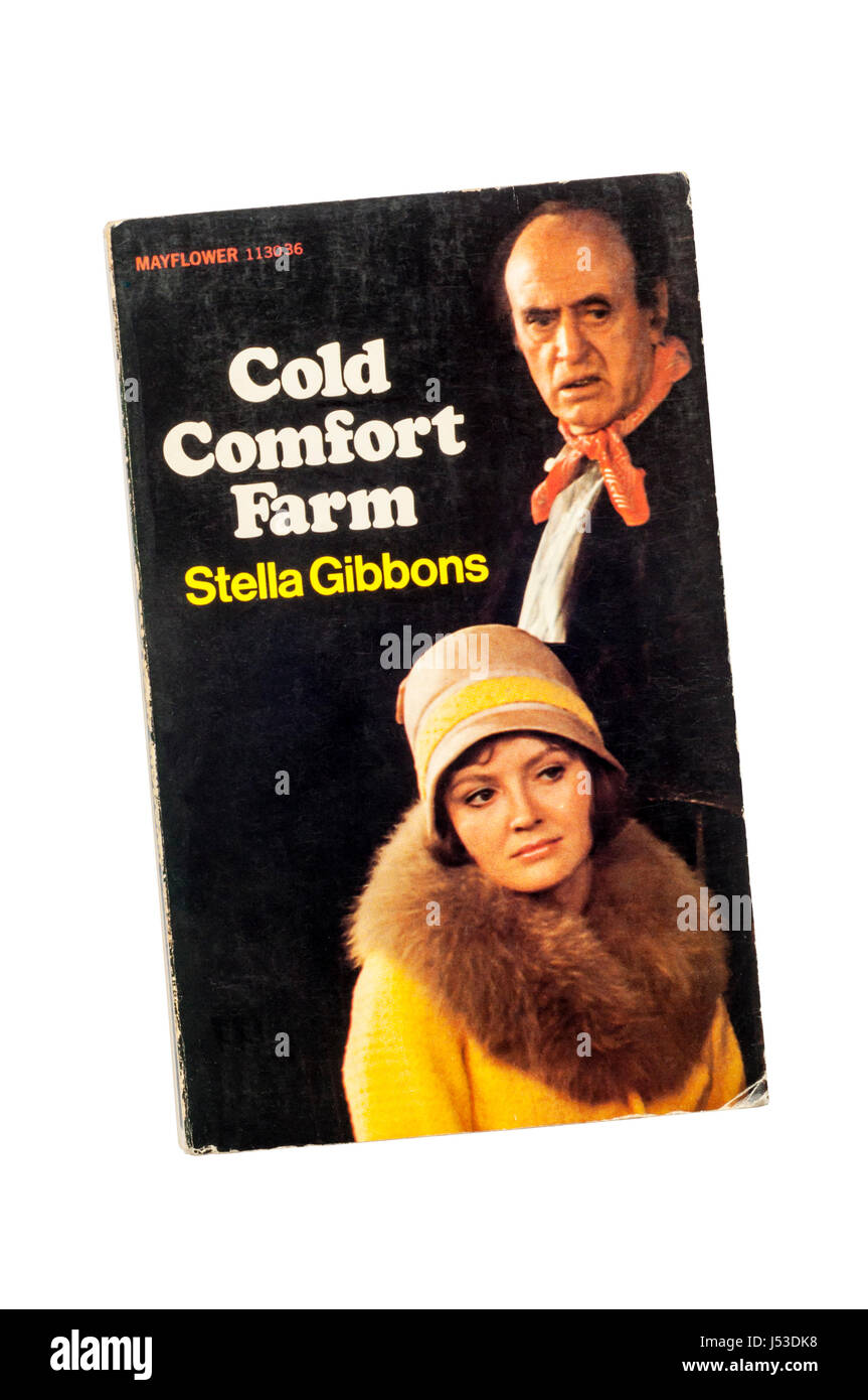 Un ejemplar en rústica de Cold Comfort Farm por Stella Gibbons. Publicado por primera vez en 1964. Imagen De Stock