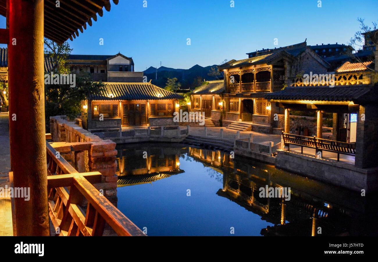 Pueblo de agua Gubei Imagen De Stock