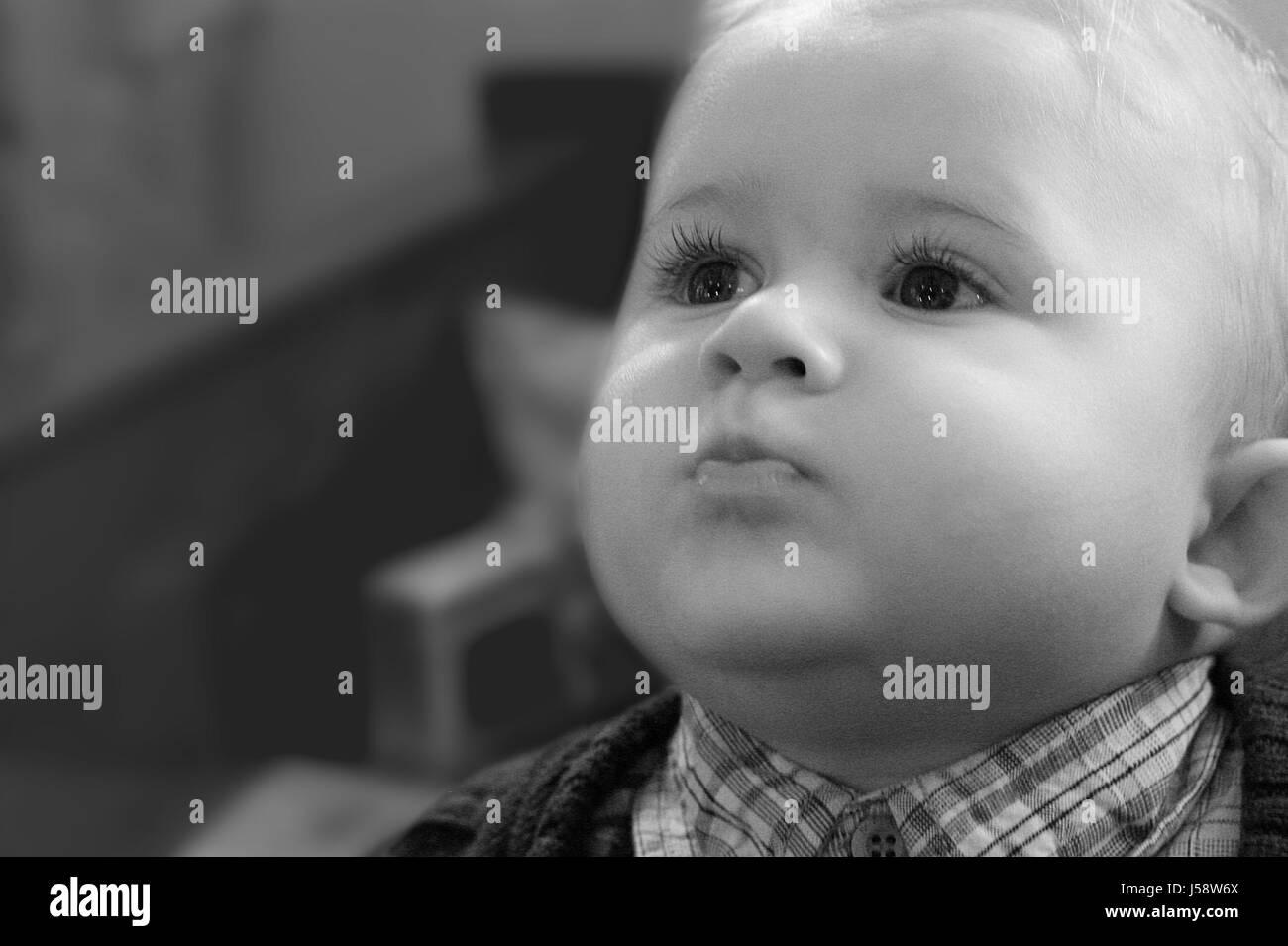 Bebe Asombro Sorprendido Pregunto Para Los Ninos Bebes Ninos