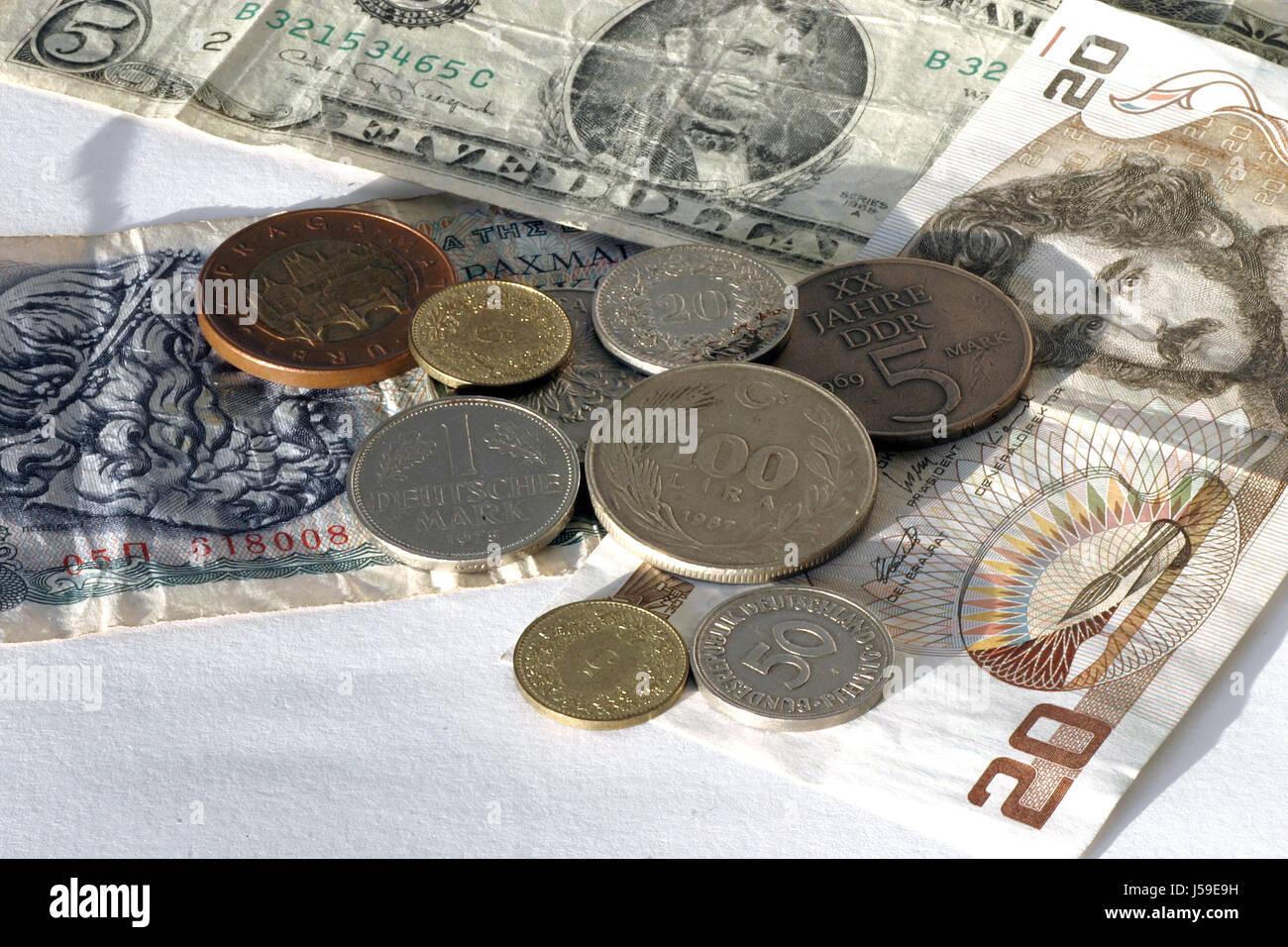 monedas Foto de stock
