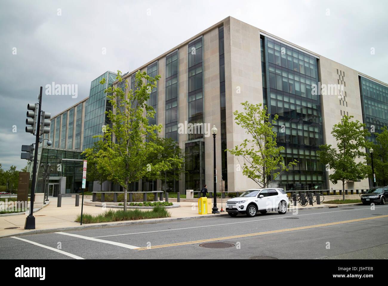 Thomas P. O'Neill Jr edificio federal cámara de representantes de los Estados Unidos y el departamento de salud y servicios humanos de los EE.UU. Washington DC Foto de stock