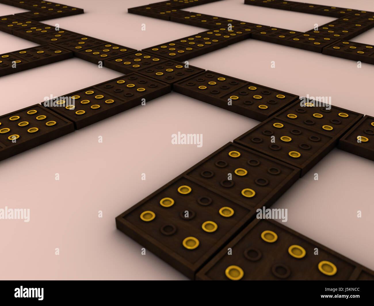 Juego torneos jugar juega jugado madera ojos campos rendering Imagen De Stock