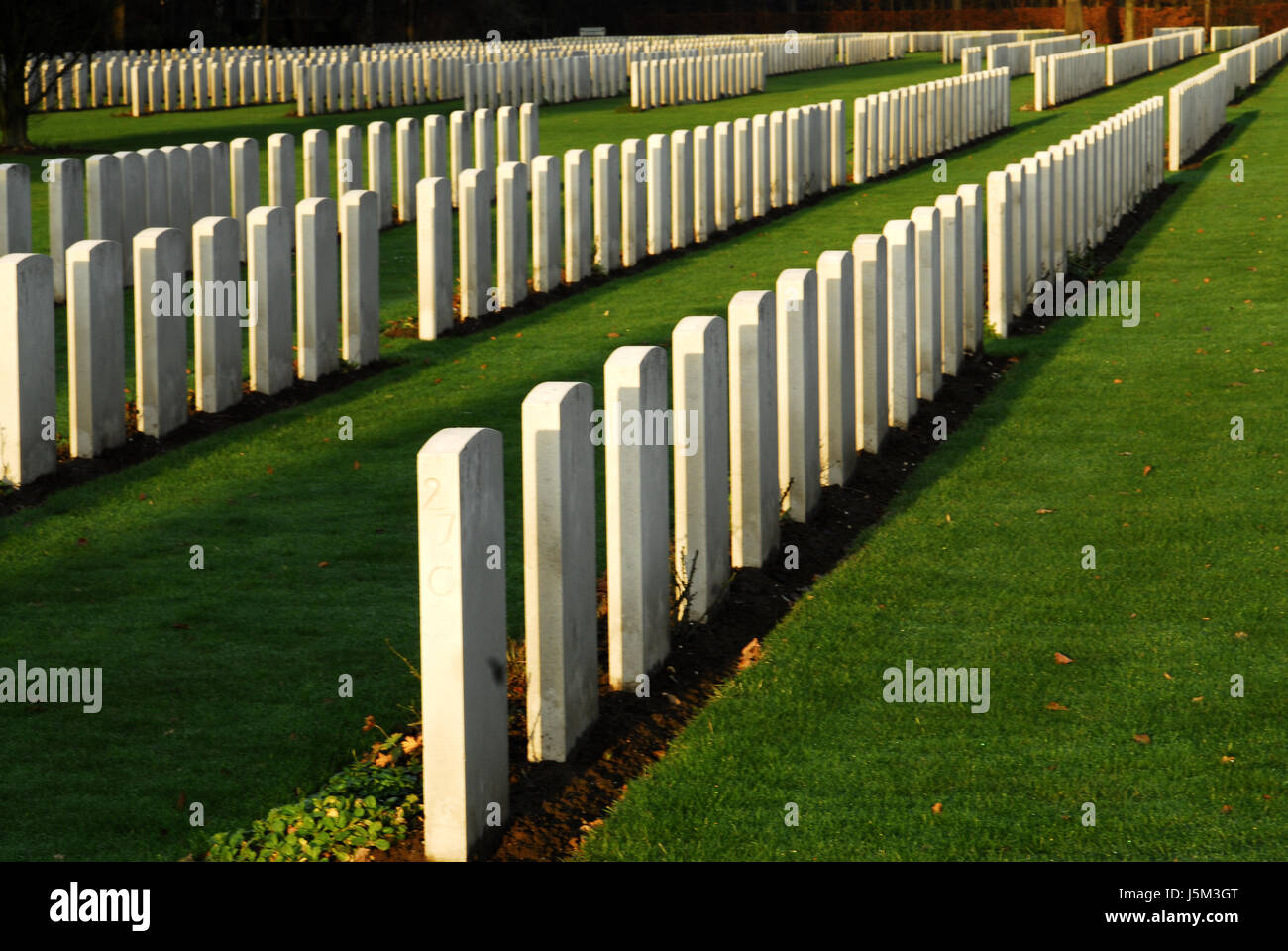 Religión La muerte morir verde guerra fría miedo lápidas lápida guerra mundial Imagen De Stock