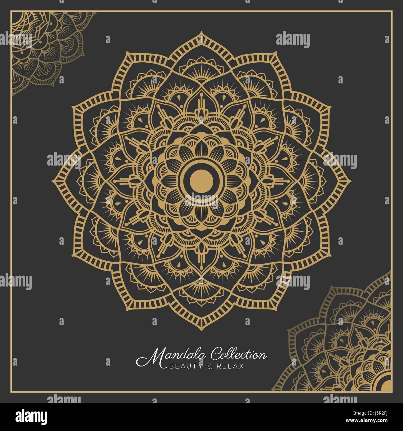 Mandala Adorno Decorativo Diseño De Páginas Para Colorear