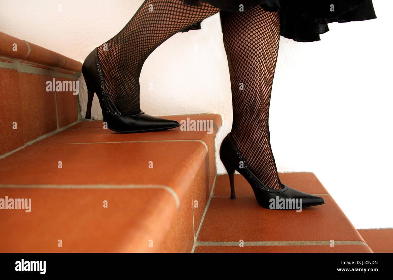 Escaleras Mujer Piernas Zapatos Tacones Pasos 7Y6gyvbf