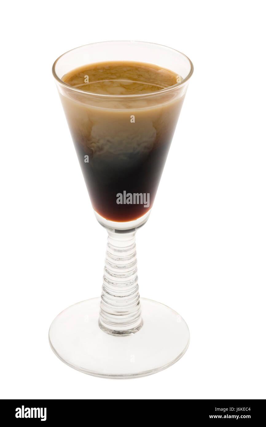 Still life cáliz vaso tumbler bebidas cerca de macro macro cierre de admisión Foto de stock