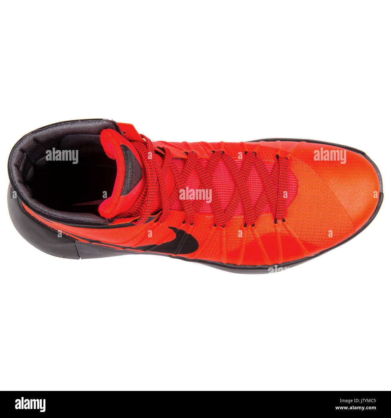 Nike Hyperdunk 2014. Rojo Naranja Spain | Zapatillas