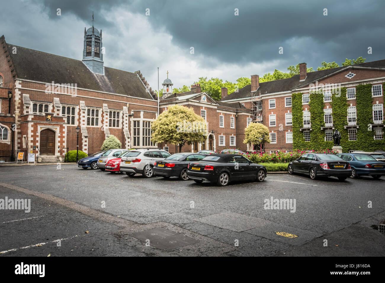 La Honorable Sociedad de Gray's Inn, Londres, Reino Unido. Imagen De Stock
