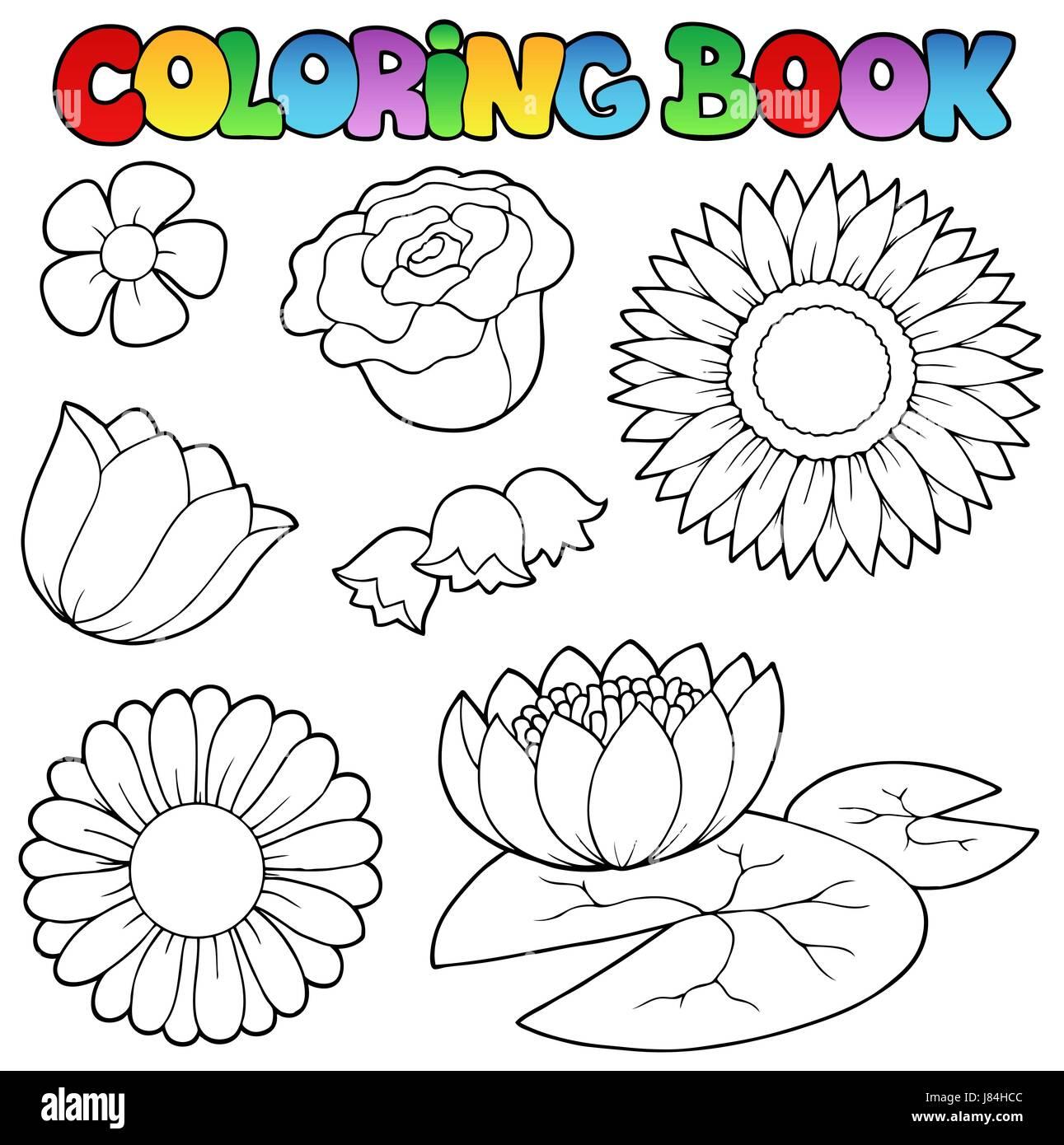 Planta De Flores Color Rosa Flores Pintadas Pintura Arte Detalle