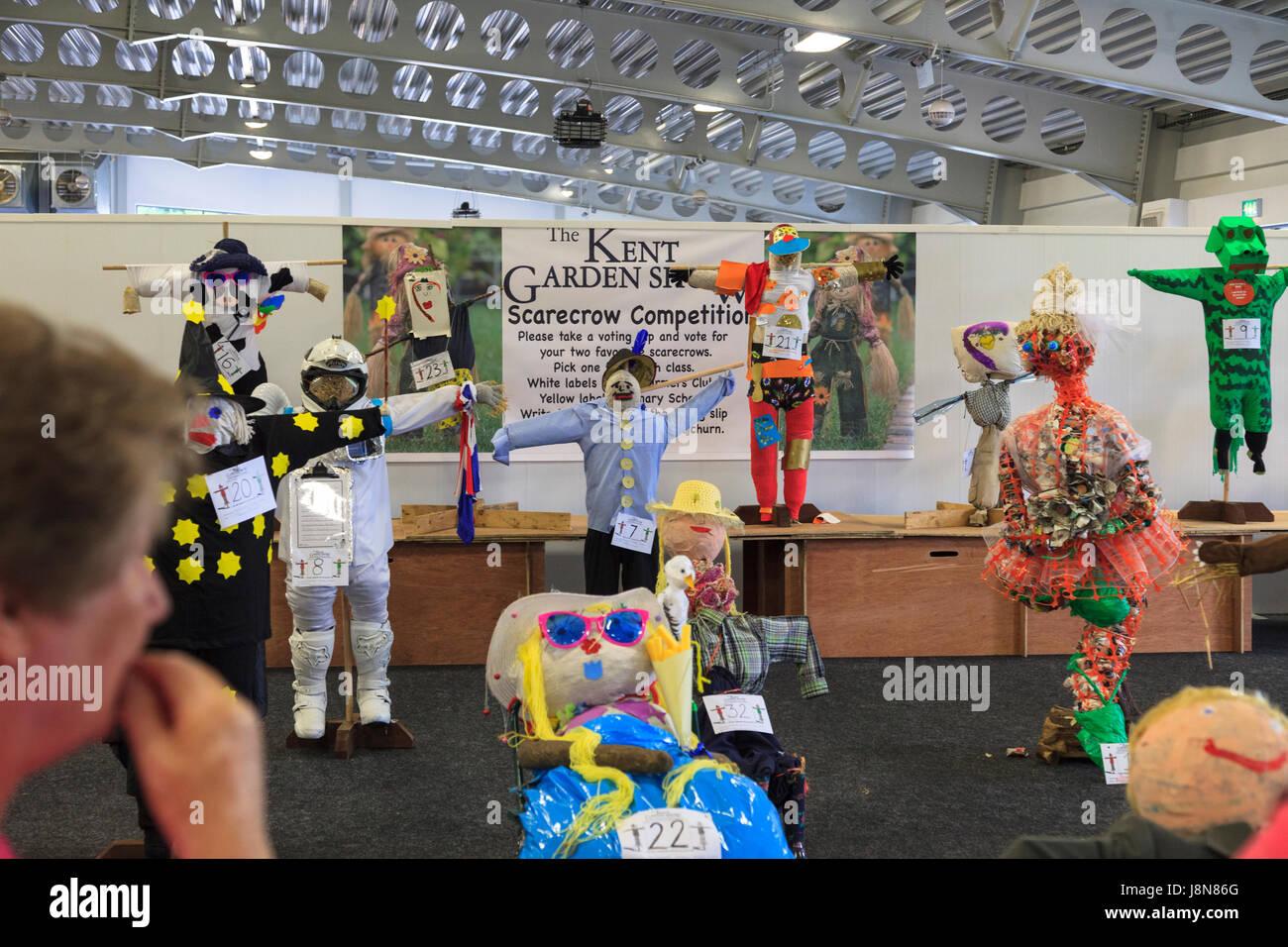 Detling, Kent, UK. 29 Mayo, 2017. Día 3 del Kent Garden Show en Detling con más de 300 expositores con una amplia variedad de productos en exhibición y para la venta. Crédito de la Foto: Paul Lawrenson /Alamy Live News Foto de stock