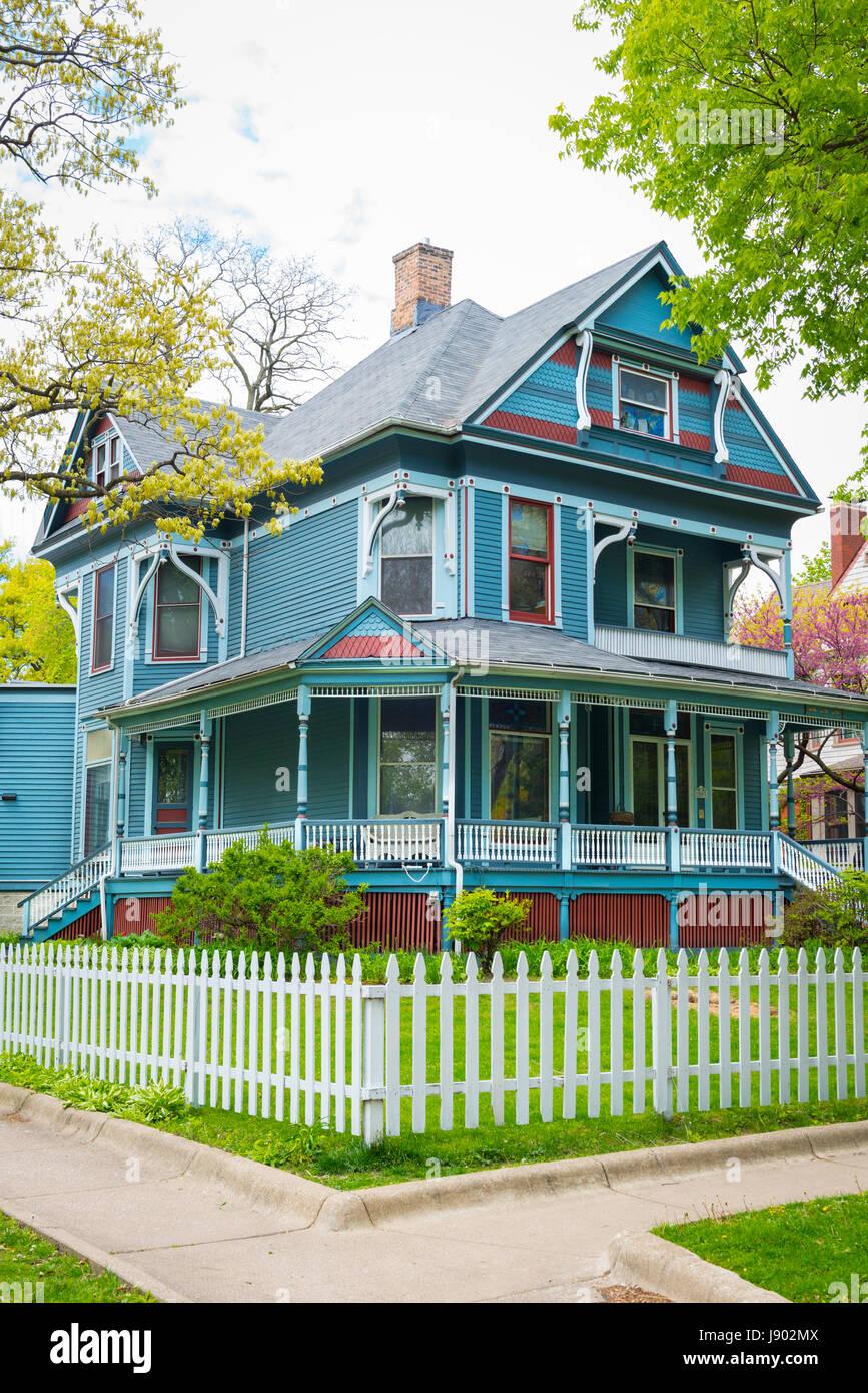 Chicago Illinois En Oak Park 203 Forest Avenue Era Del