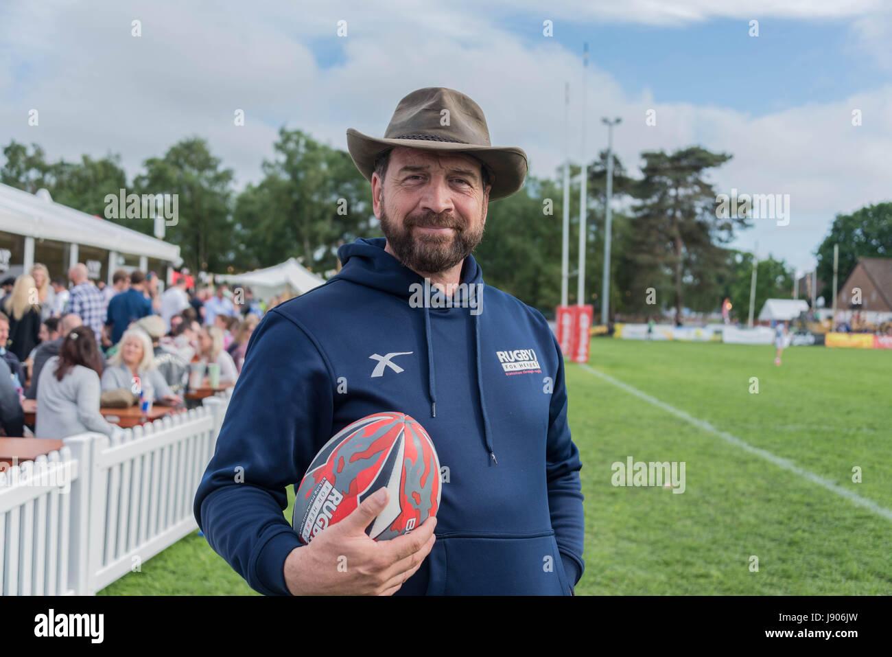 Bournemouth, Reino Unido. El 28 de mayo de 2017. Deportes y festival de música anual atrae a rugby, baloncesto, Imagen De Stock