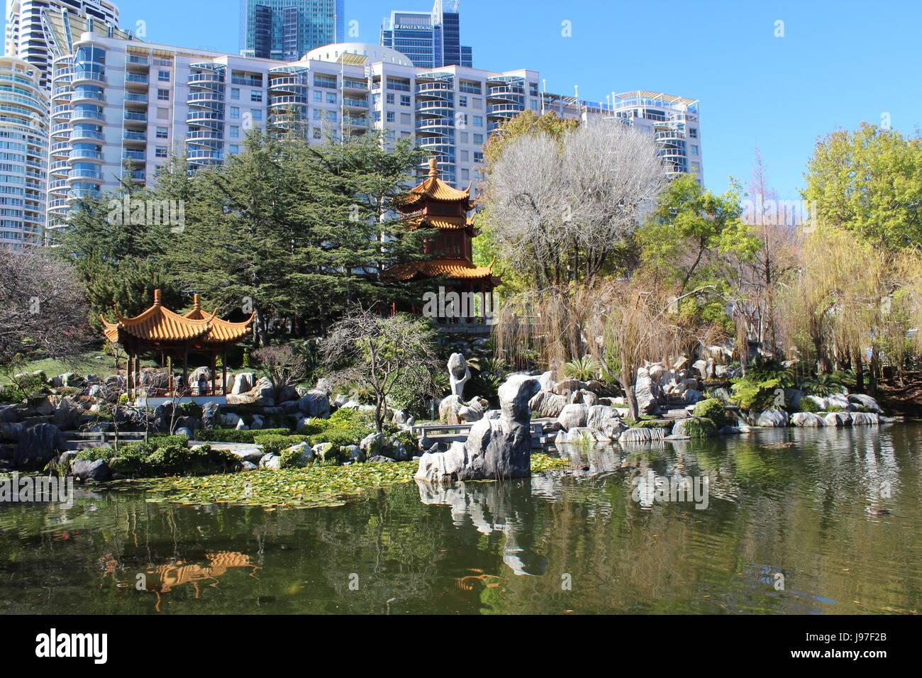 Los Jardines Chinos de Sydney Foto Imagen De Stock 143380339 Alamy