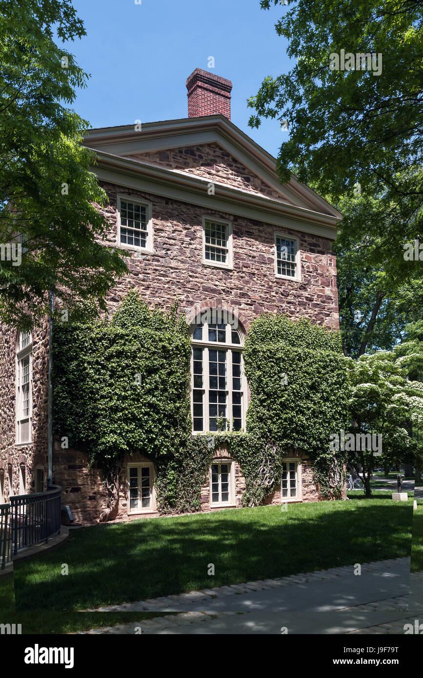 Mundialmente famosa ivy league de Princeton University, New Jersey, EE.UU. Imagen De Stock