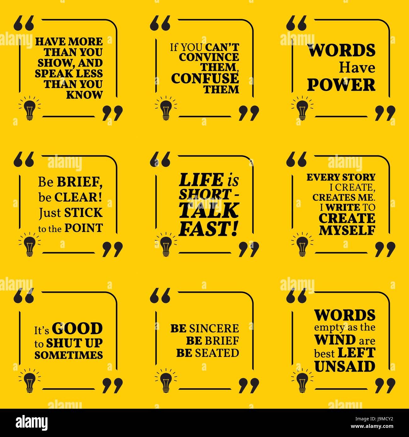 Conjunto De Citas Sobre Discurso Motivacional Es Decir