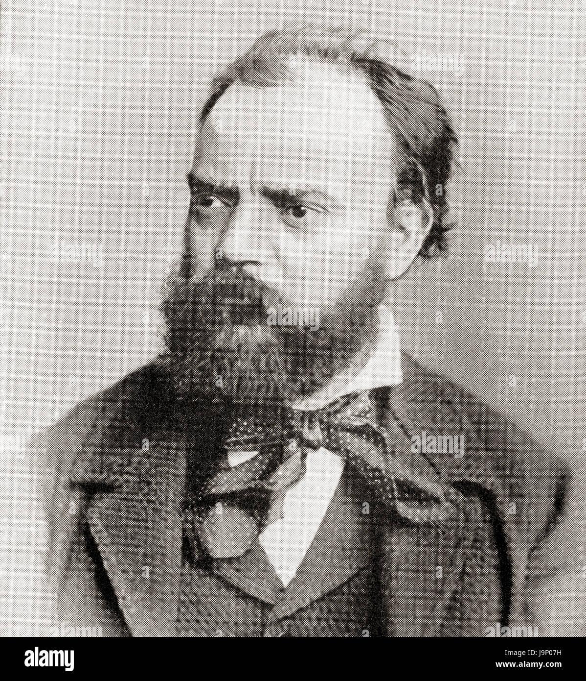 Antonín Leopold Dvořák, 1841 - 1904. Compositor checo. La historia de Hutchinson de las Naciones, publicado Imagen De Stock