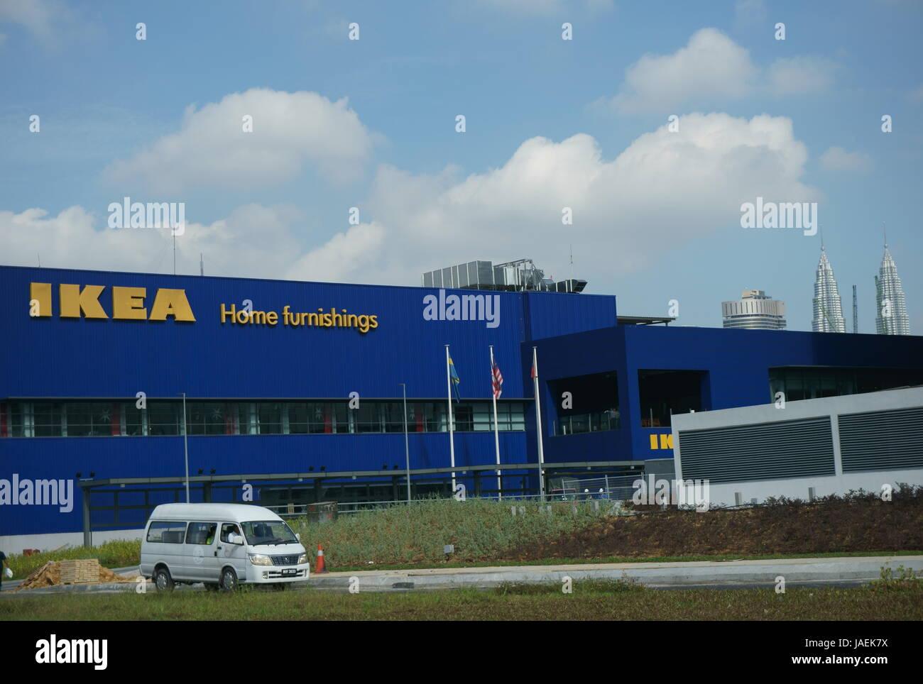 Tienda de muebles para el hogar Ikea en Kuala Lumpur, Malasia Foto ...