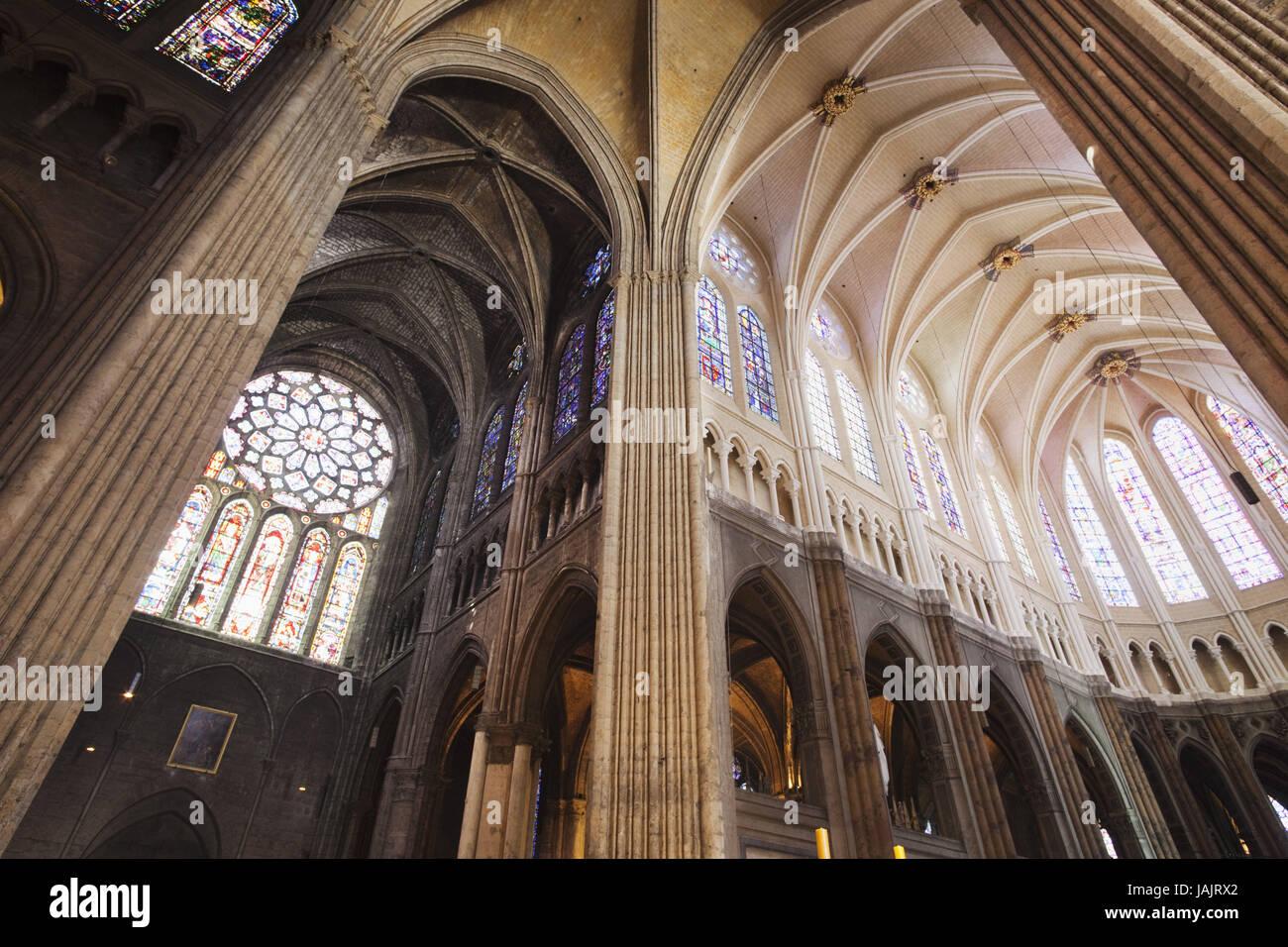 Francia El Eure Et Loire Chartres Catedral Notre Dame De Chartres