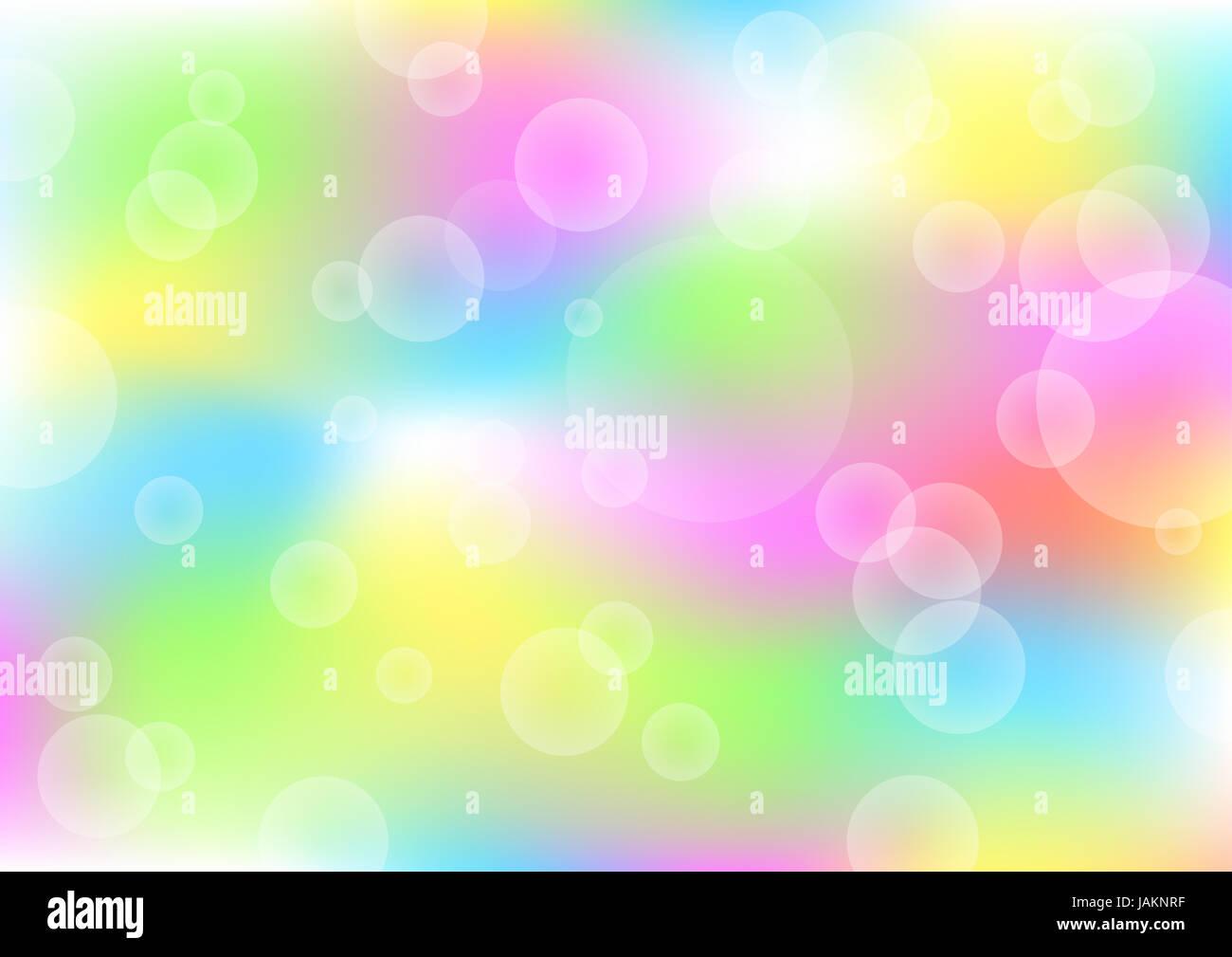 El hermoso color eps10 Fondo de verano Imagen De Stock