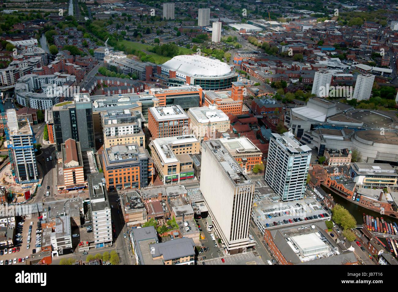El centro de la ciudad de Birmingham Imagen De Stock