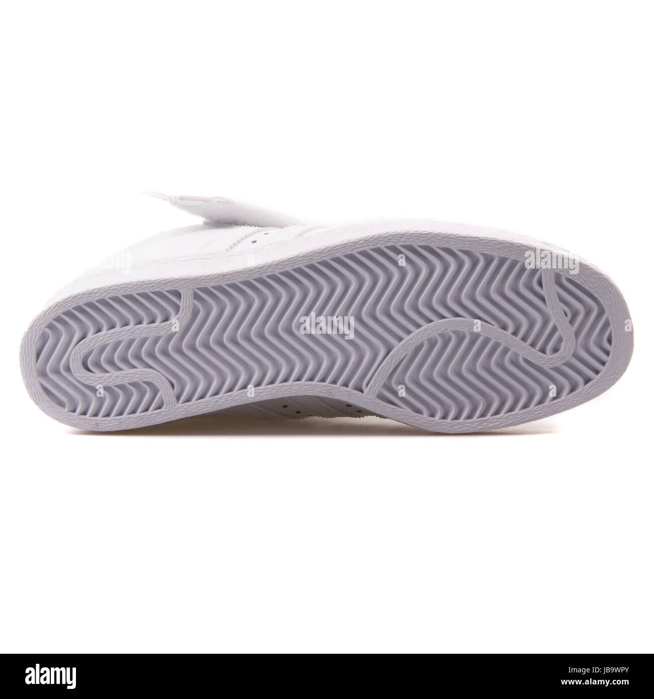 new concept 7a835 1e02a Adidas Superstar pletina W Blanco zapatos de mujer - S81351 Imagen De Stock