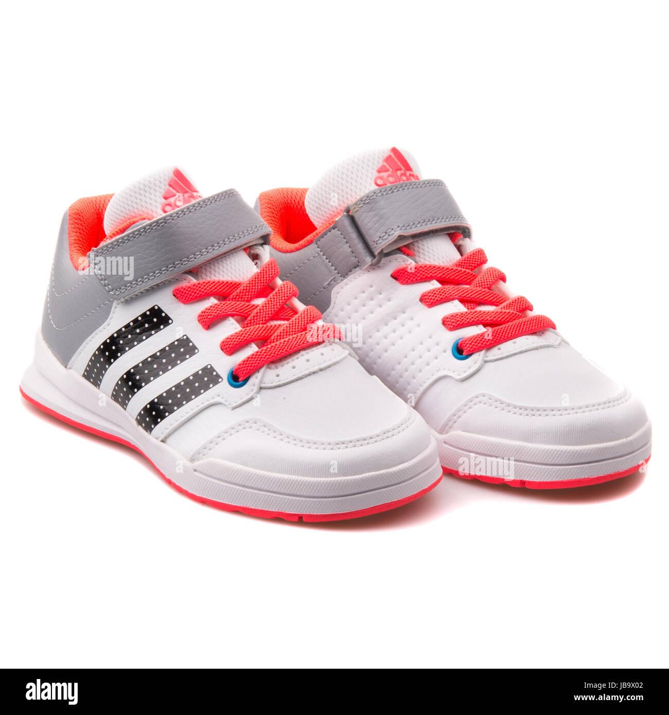 best website 0029d 87e26 Adidas Jan BS 2 C blanco y gris y zapatillas deportivas para niños - B23903  Imagen