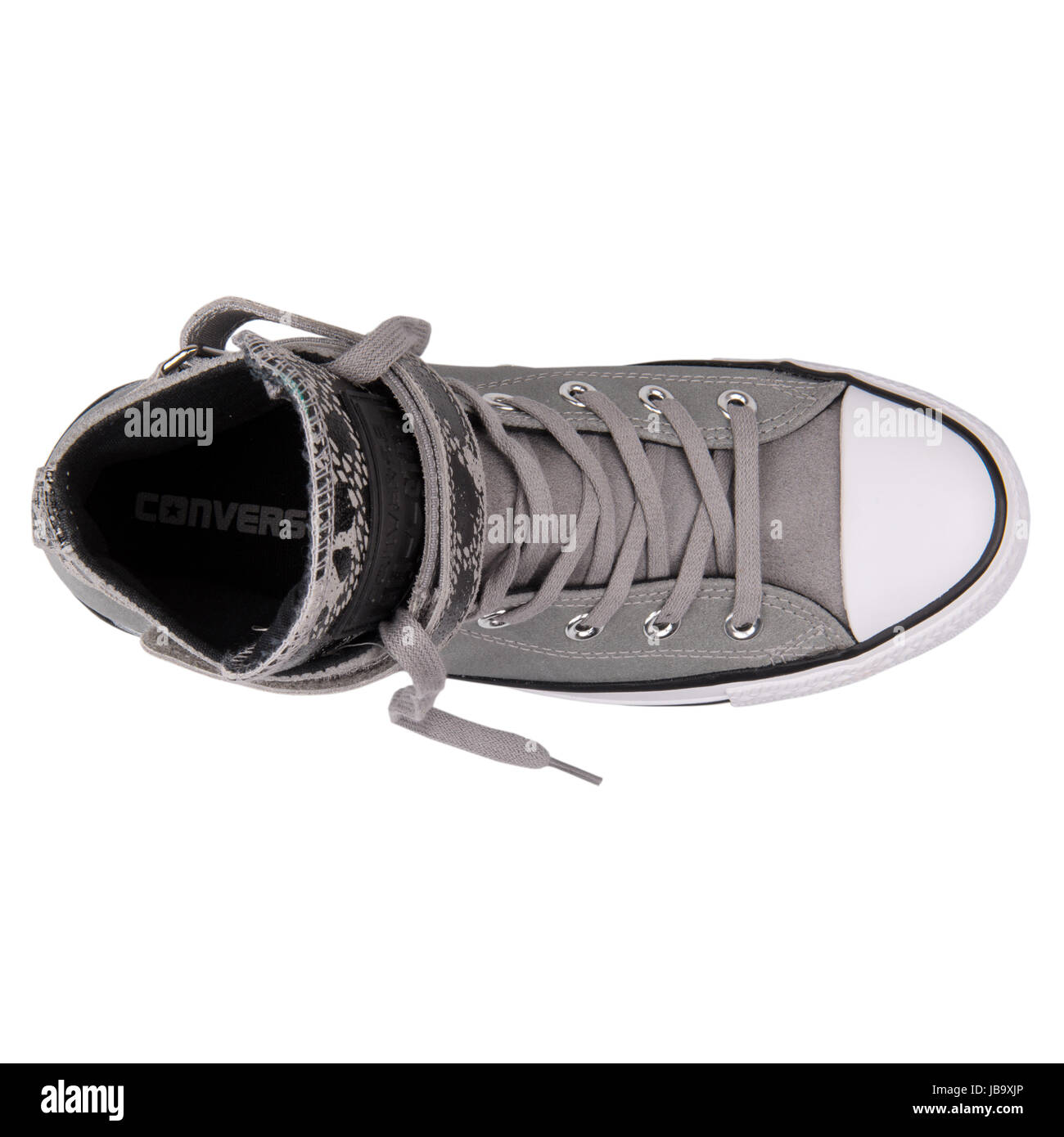 b0427d6cc Converse Chuck Taylor All Star Hi Brea delfín negro zapatos de mujer -  549581C