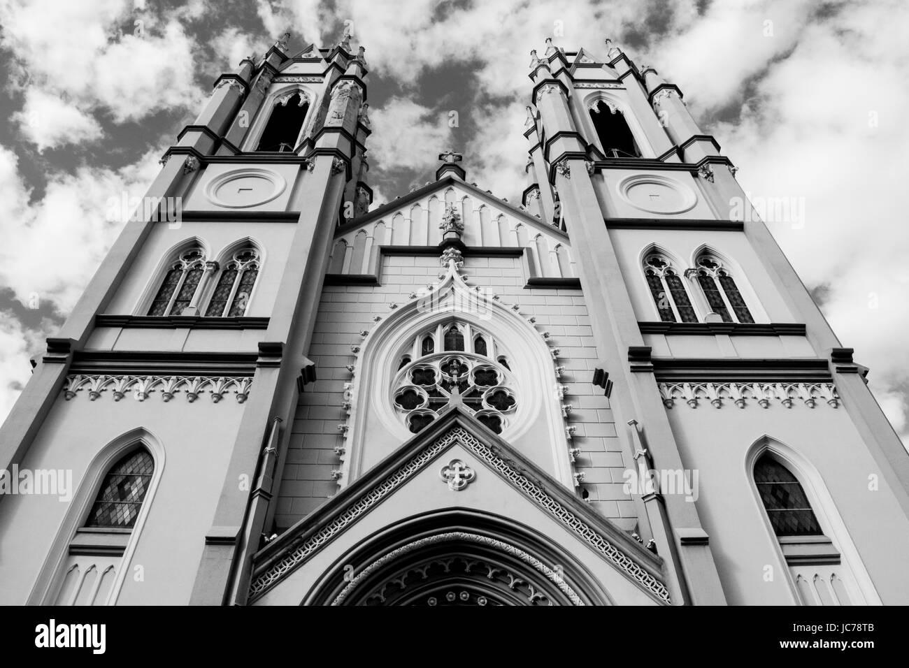 Iglesia simétrico Foto de stock