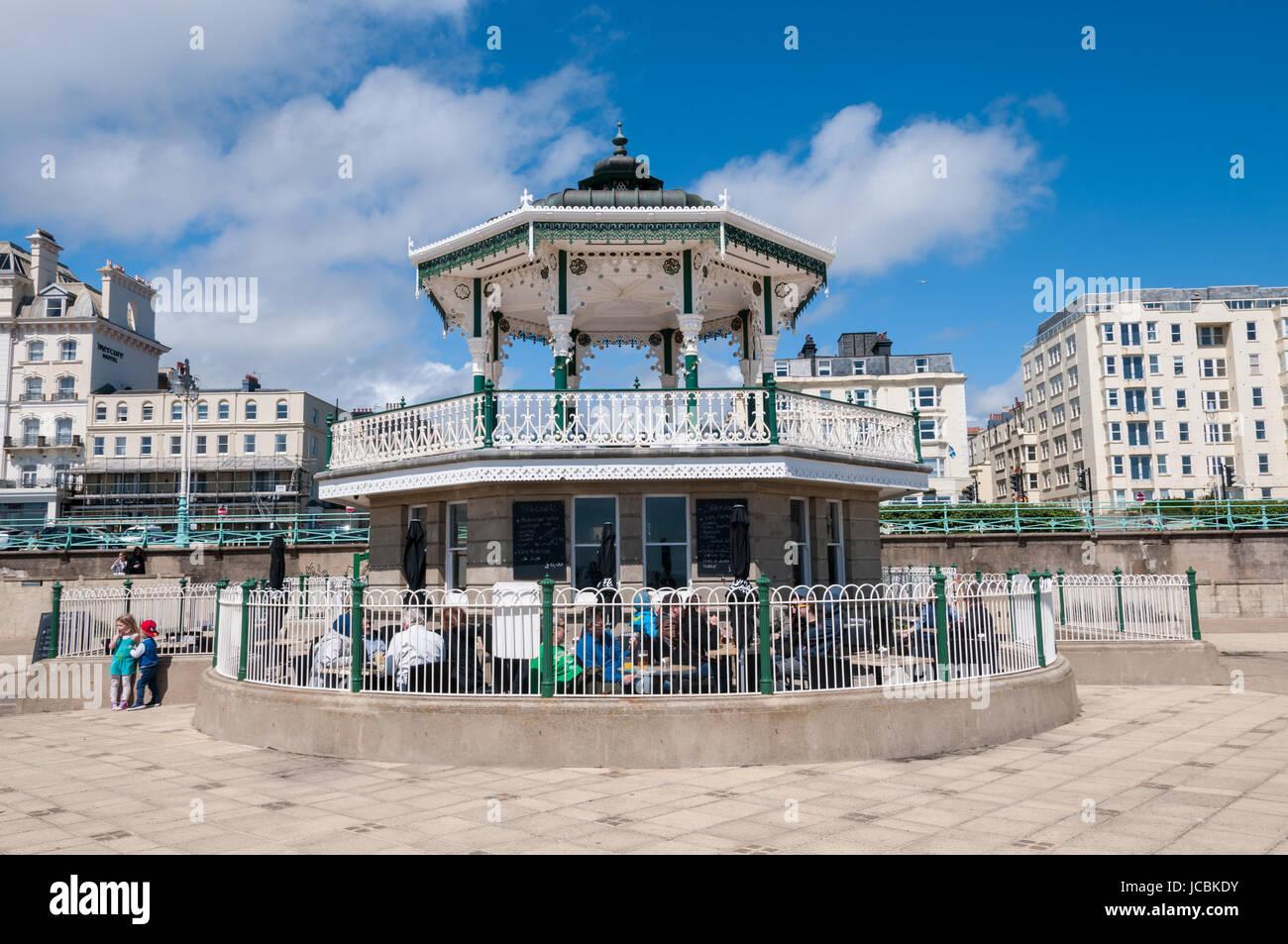 El Quiosco, Brighton Seafront, Reino Unido Foto de stock
