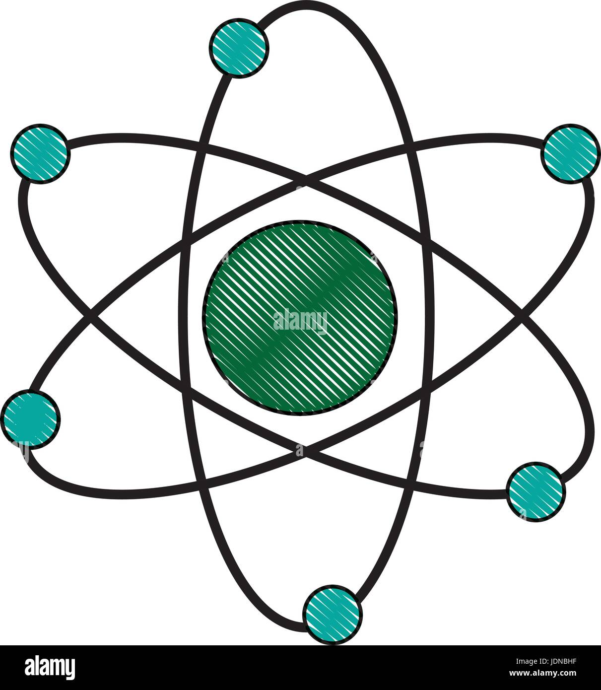 Atom Estructura Científicos De Biología Molecular