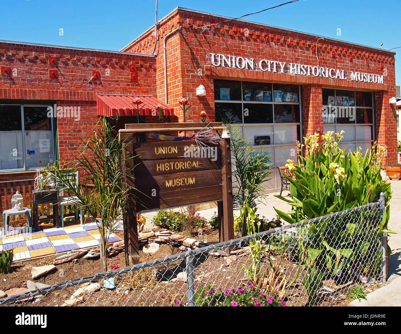 Museo Histórico de Union City, California Imagen De Stock