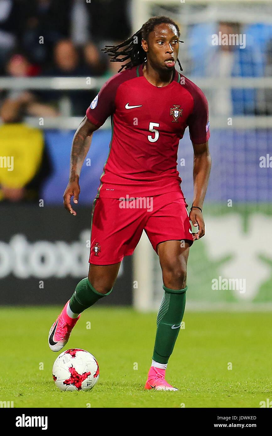 Ruben Semedo durante el campeonato de Europa Sub-21 partido entre Portugal  y España 0c548c4a4f2a2