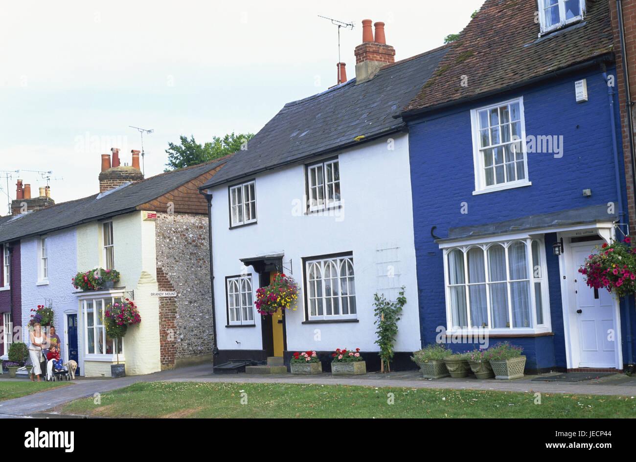 Gran Bretaña Inglaterra Hampshire Alresford Terraza